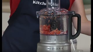 KitchenAid 7-Cup EZ Store Premium Food Processor on QVC