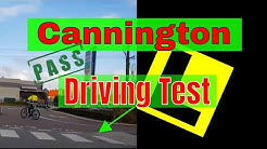 Cannington Driving Test Area (Part One) - Free Driving Test Tips - Pass PDA