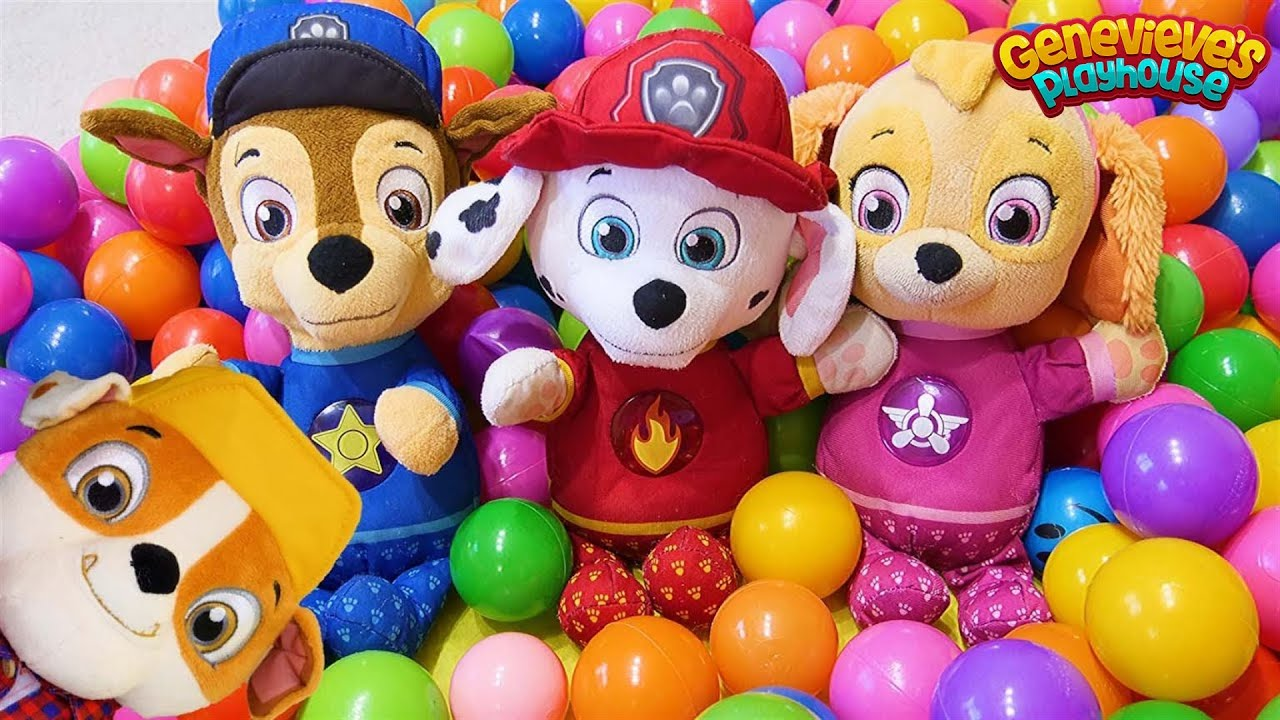Download Paw Patrol Home Alone Funny Toy Learning Video for Kids!