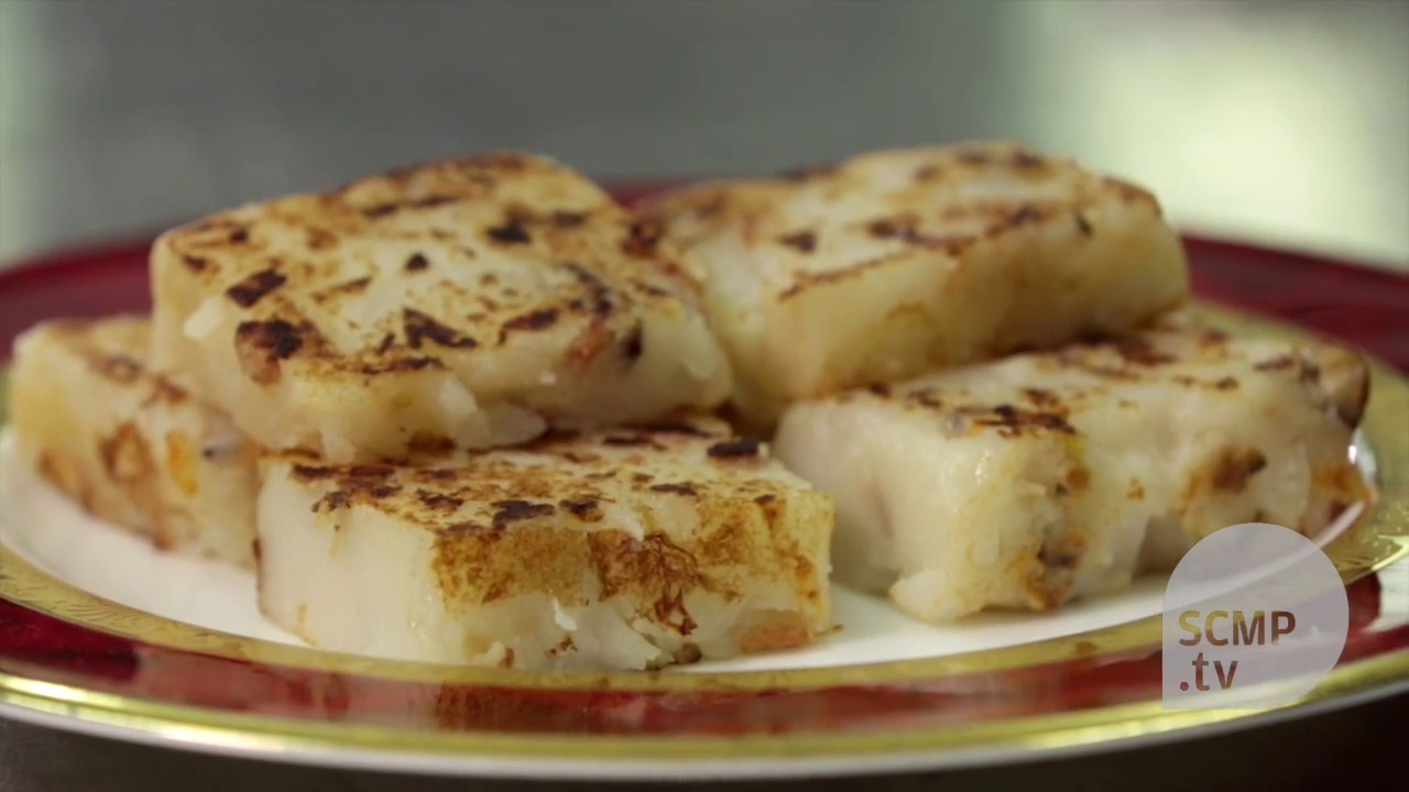 Learn how to make turnip cake from Hong Kong\'s top chef - YouTube