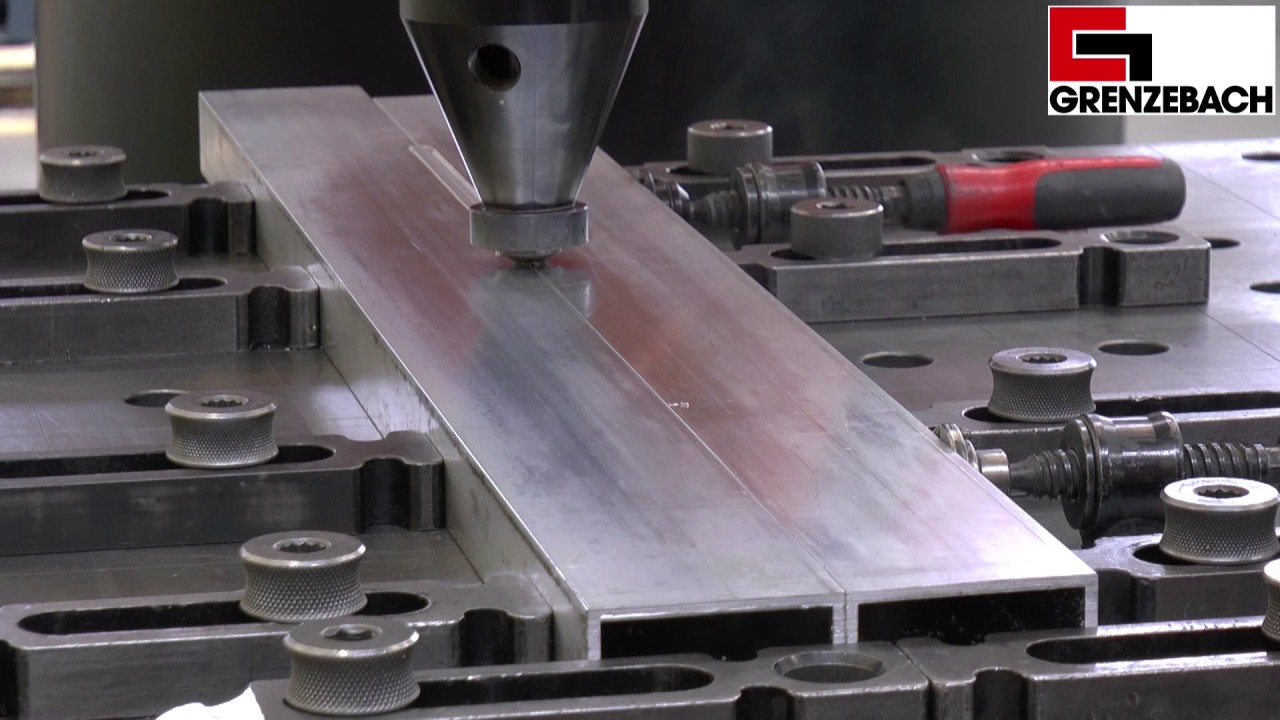 Friction Stir Welding >> Friction Stir Welding of Aluminum Profiles | Rührreibschweißen von Aluminium-Strangpressprofilen ...