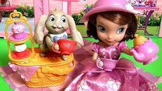 Huge Sofia Picnic Royal Tea Party Doll OVER 40 Phrases! Disney Princess Sofia the First