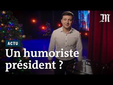 Ukraine : un humoriste bientôt président?