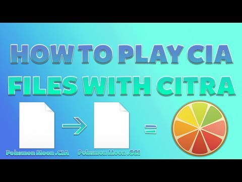 How to play CIA files with Citra