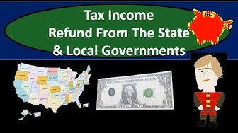 Should State Refund Be Reported As Income On Income Tax Return Form 1040 2018 2019