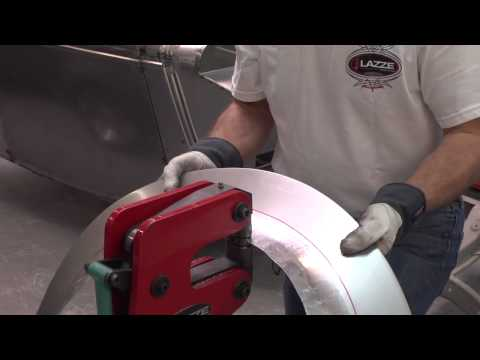 Metal Shaping with Lazze:  Metal Fender Flare with Inner Lip Part 2 of 3