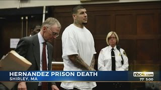 former nfl player aaron hernandez found dead in his prison cell
