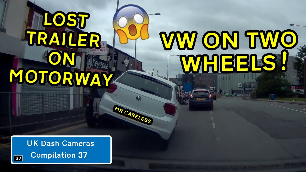 UK Dash Cameras - Compilation 37 - 2020 Bad Drivers, Crashes + Close Calls