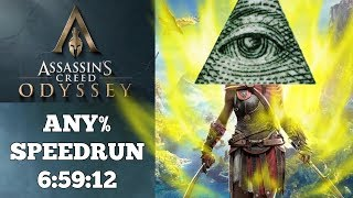 Assassin's Creed Odyssey | Any% Speedrun | The most CURSED