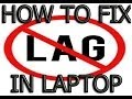 How To Fix Lag Stuttering or FPS Drop in Laptop