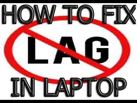 How To Fix Lag Stuttering or FPS Drop in Laptop - YouTube