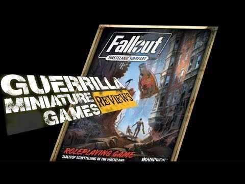 GMG Reviews - Fallout: Wasteland Warfare The Tabletop Roleplaying Game