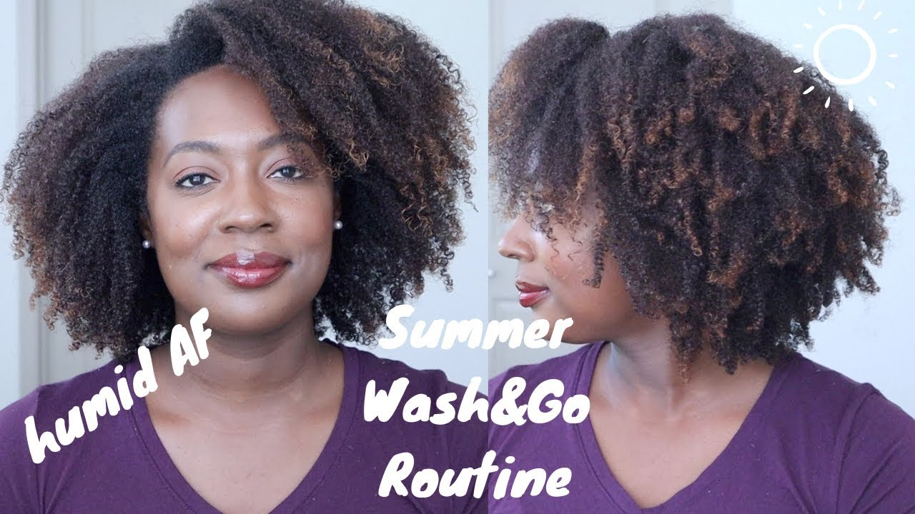 Wash Day Summer Wash Go Routine Lasts In High Humidity
