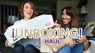 HAUL + UNBOXING: Compras en H&M, FABShoes... Nuestra experiencia!