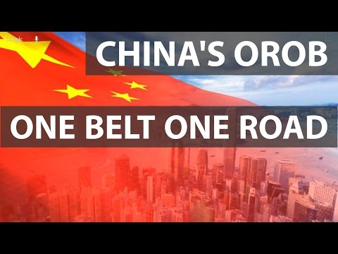 CHINA - One Belt One Road - OBOR - SILK ROUTE - STRING OF PE