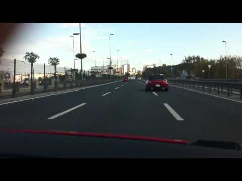 Honda S2000 & Type R in Traffic
