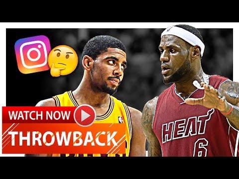 LeBron James vs Kyrie Irving ELITE Duel Highlights (2013.12.14) Cavs vs Heat - Kyrie Shaking LBJ!