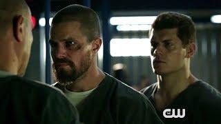 """Arrow 7x01 Sneak Peek """"Inmate 4587"""" Season 7 Episode 1"""