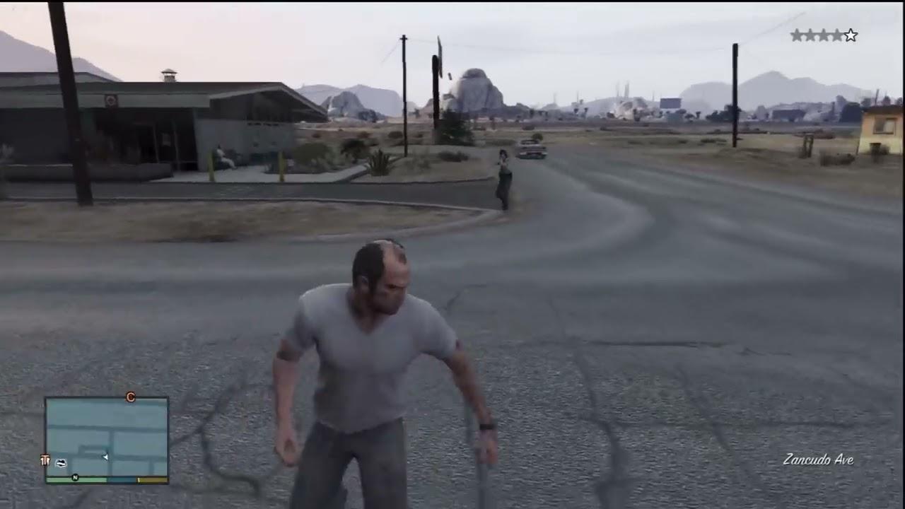 GTA V: Female Police Officer - YouTube