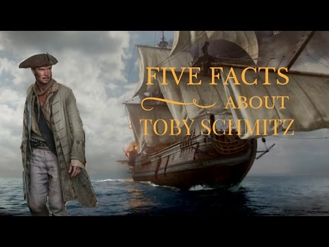 Meet the Actor: Toby Schmitz Jack Rackham from Black Sails