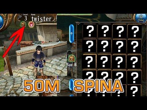 Lvl 3 Account made me 50M SPINA Toram Online 2018 HD | トラム オンライン