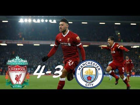 Liverpool vs. Manchester City 4-3 (FULL HIGHLIGHTS)