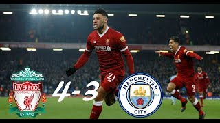 Liverpool vs. Manchester City 4-3 (FULL HIGHLIGHTS)