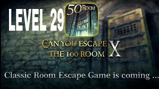 Can You Escape The 100 room X level 29 Walkthrough