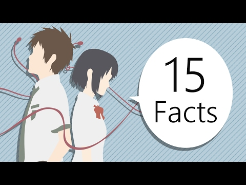 15 Things You May Not Know About Kimi No Na Wa (Your Name)
