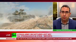 Syria's liberation: Army recaptures last major ISIS stronghold
