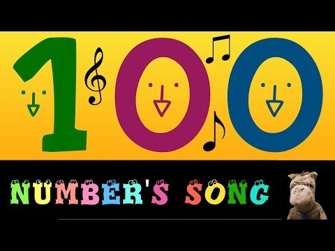 Numbers songs for kindergarten The Big Numbers Song - 0 to 1000000