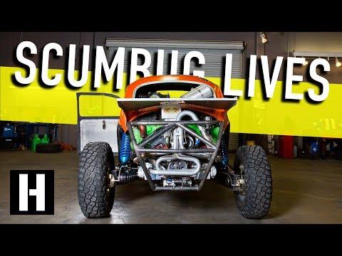 Scumbug Gets Fired Up! Fresh Racing Engine for our Craigslist Baja Bug