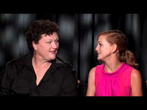 GLEE: Jayma Mays and Dot-Marie Jones talk their dream songs, duet partners