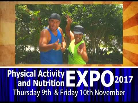 Samoa Ministry of Health Physical Actvities and Nutrition Expo 2017