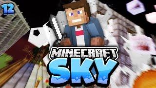 REWI SPRENGT MEIN HAUS - DAS GIBT RACHE!! | Minecraft SKY #12 | Dner