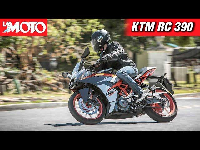 Presentación: KTM RC390