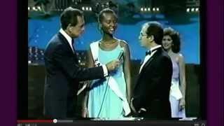 MISS UNIVERSE ZAIRE 1985(3E PLACE): BENITA MUREKA