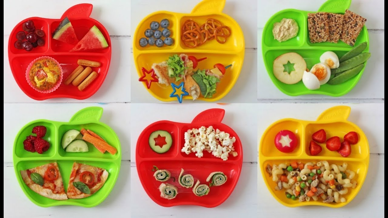 a week of lunch ideas for toddlers with munchkin ad youtube