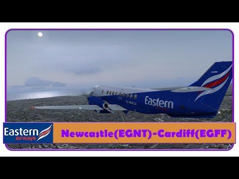[FSX] Eastern Airways | Newcastle-Cardiff | PMDG Jetstream 41 |