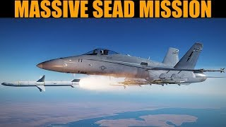 Tebro Campaign: DAY 6 Spectacular SEAD Mission | DCS WORLD