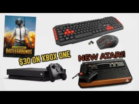 PUBG XBOX ONE PRICE NEW ATARI CONSOLE MOUSE AND KEYBOARD