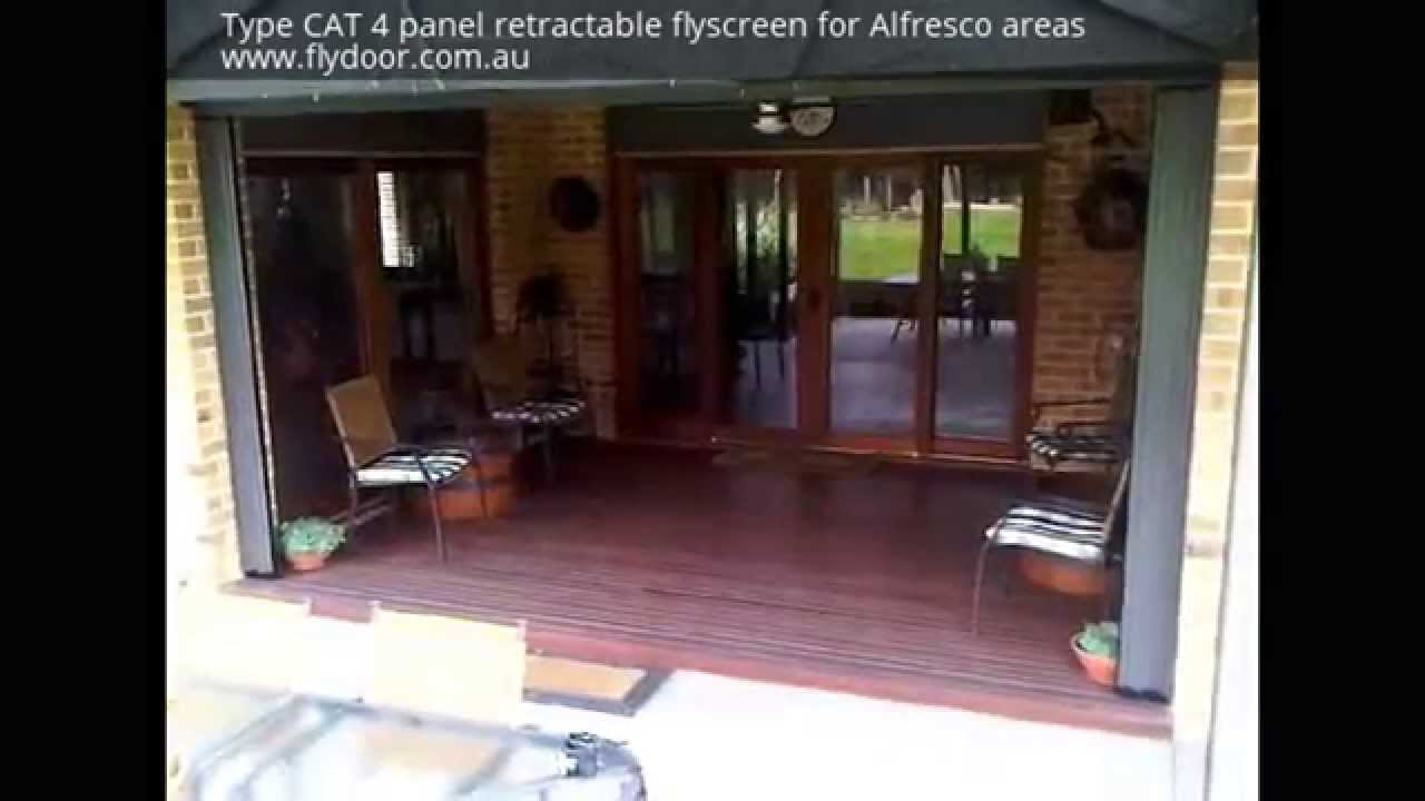 Retractable Flyscreens For Bifold And French Doors From Flydoor