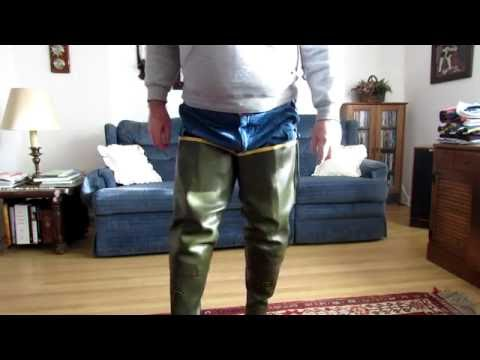 In Praise of LaCrosse Hip Boots - YouTube