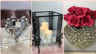3 DOLLAR TREE GLAM DIY'S 2019 | HOME DECOR
