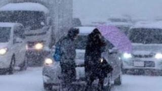 札幌や近郊で局地的ドカ雪 交通も大混乱(2013/02/21)北海道新聞