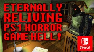 Eternally Reliving PS1 Horror Hell: Vaccine Quick Play! (Switch) [4k 60FPS]
