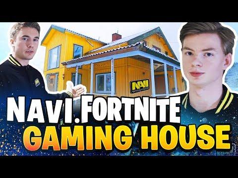 NAVI Fortnite Gaming House Tour