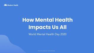 World Mental Health Day 2020 Community Session