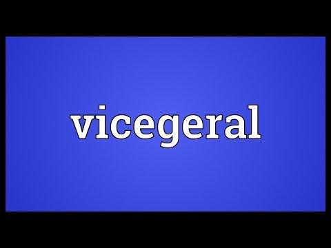Header of vicegeral