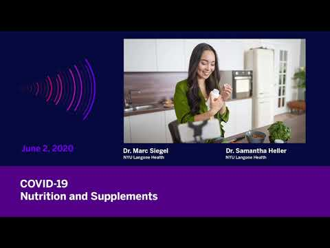 COVID-19: Nutrition & Supplements